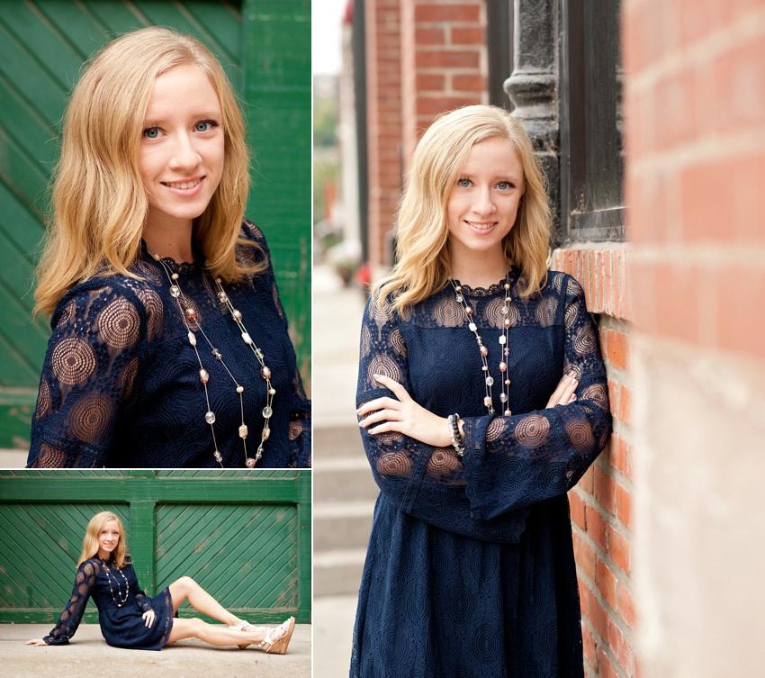 Senior Girl Photo Session in Kansas City, Missouri.